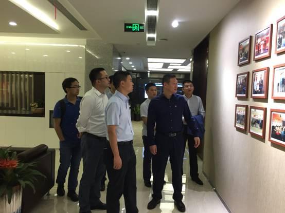 建科集团副总经理罗刚率队赴上海鲁班软件有限公司进行考察