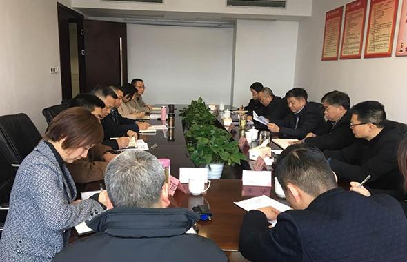 集团党委书记、董事长郑尚钦一行调研资产公司经营业务工作