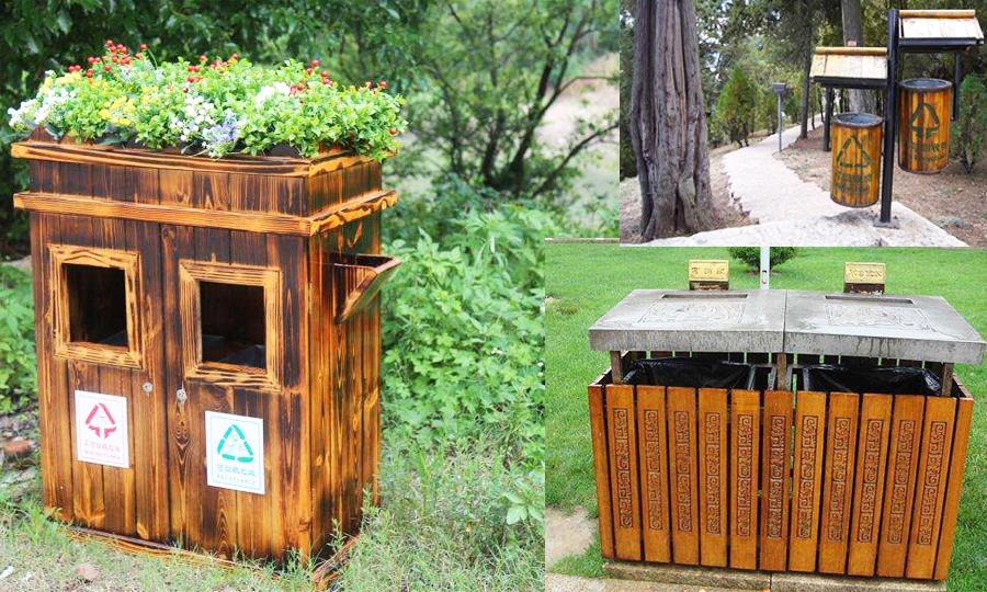 5A景区的垃圾桶如何设置
